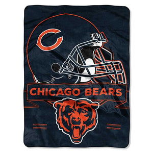 "CHICAGO BEARS 60""X80"" PRESTIGE BLANKET"