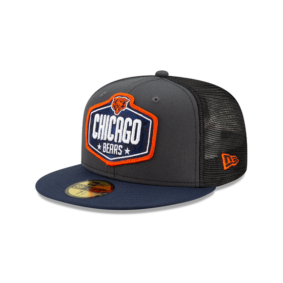 CHICAGO BEARS DRAFT 2021 DRAFT 59FIFTY FITTED