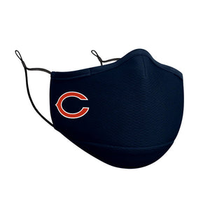 CHICAGO BEARS FACE MASK-NAVY
