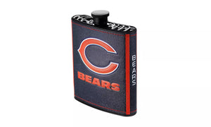 CHICAGO BEARS LOGO WRAP HIP FLASK