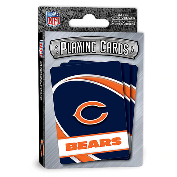 CHICAGO BEARS PLAYING CARDS