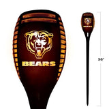 CHICAGO BEARS SOLAR TORCH