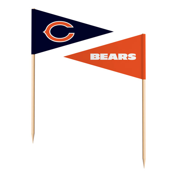 CHICAGO BEARS TOOTHPICK FLAGS