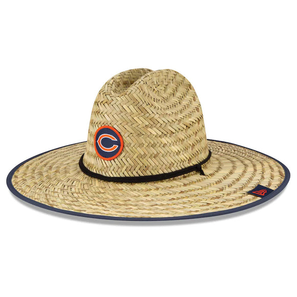 CHICAGO BEARS TRAINING STRAW HAT