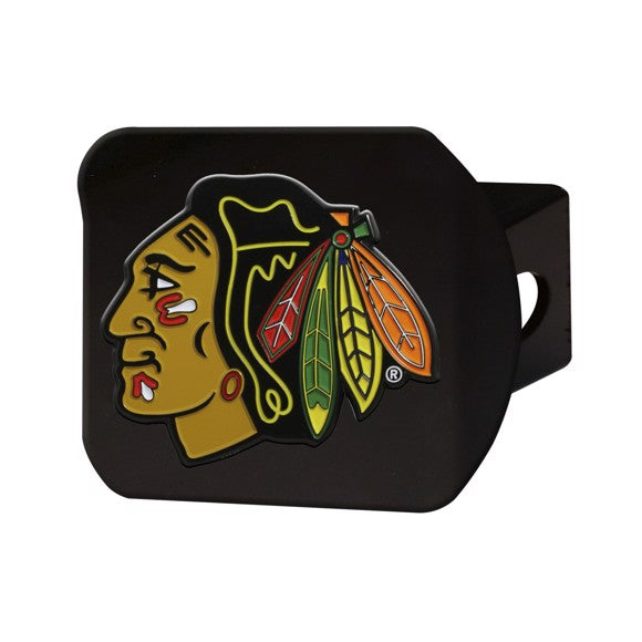 CHICAGO BLACKHAWKS BLACK LOGO HITCH