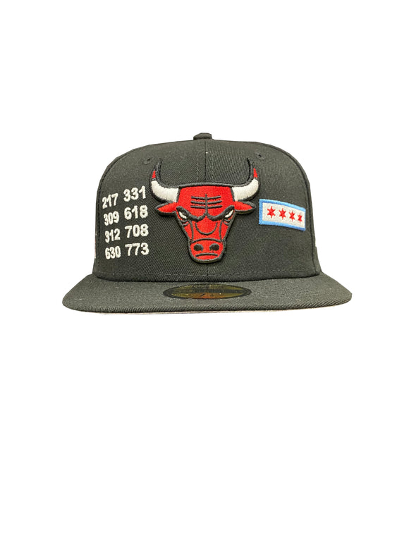 CHICAGO BULLS LOCAL 59FIFTY FITTED
