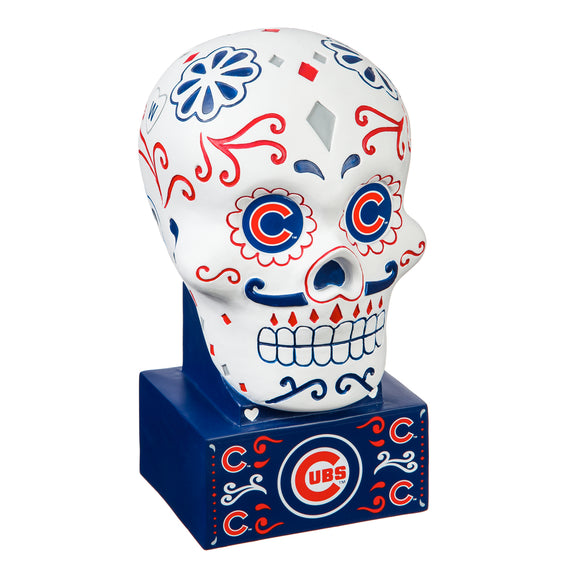 CHICAGO CUBS SUGAR SKULL HEAD
