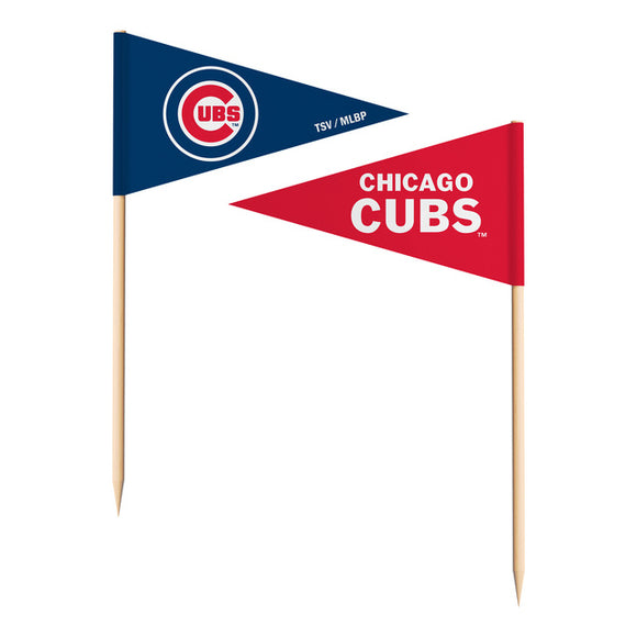 CHICAGO CUBS TOOTHPICK FLAGS