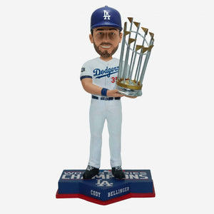 CODY BELLINGER WORLD SERIES CHAMPS BOBBLE HEAD