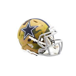 DALLAS COWBOYS CAMO MINI SPEED HELMET