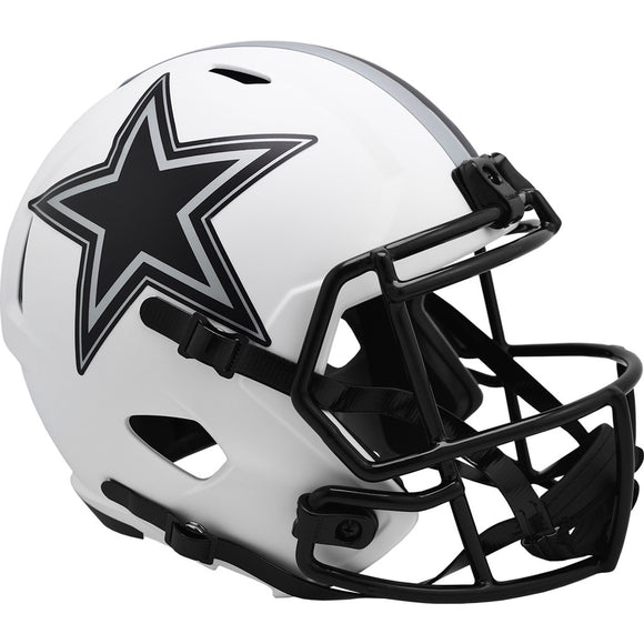 DALLAS COWBOYS FULL SIZE LUNAR REPLICA SPEED HELMET