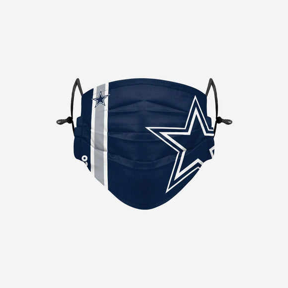 DALLAS COWBOYS SIDELINE LOGO FACE MASK
