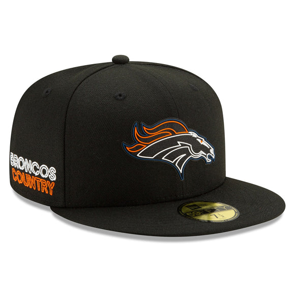 DENVER BRONCOS 2020 DRAFT DAY 59FIFTY FITTED