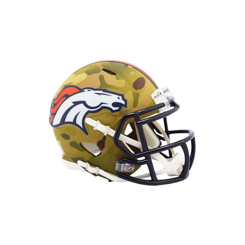 DENVER BRONCOS CAMO MINI SPEED HELMET