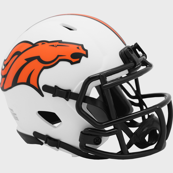 DENVER BRONCOS LUNAR MINI SPEED HELMET
