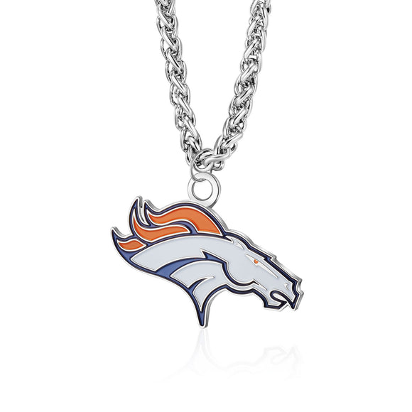 DENVER BRONCOS TEAM LOGO NECKLACE