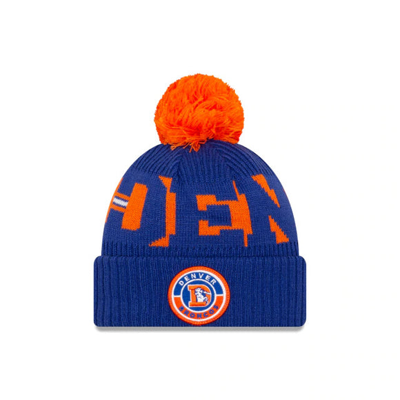 DENVER BRONCOS THROWBACK SIDELINE KNIT