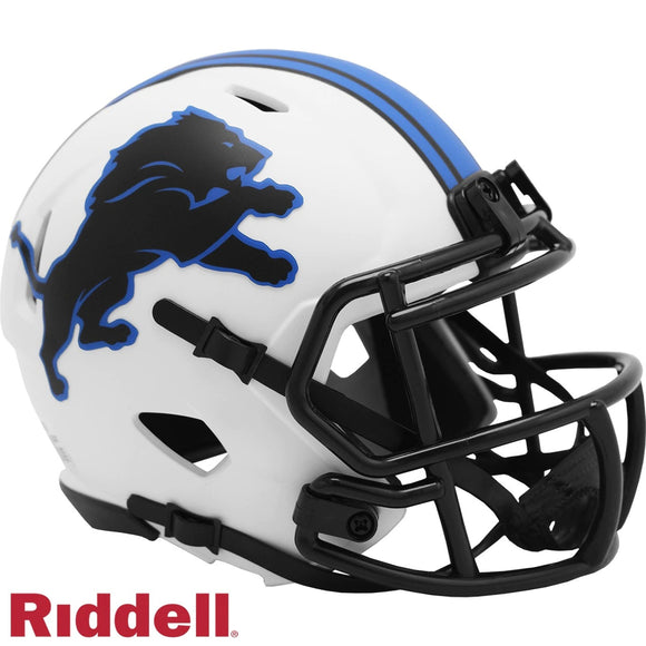 DETROIT LIONS LUNAR MINI SPEED HELMET
