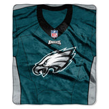 "PHILADELPHIA EAGLES 50""X60"" THROW BLANKET"