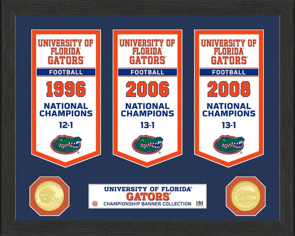 FLORIDA GATORS BANNER COLLECTION PHOTO