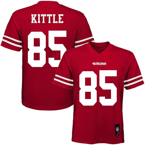 GEORGE KITTLE YOUTH MID-TIER FOOTBALL JERSEY