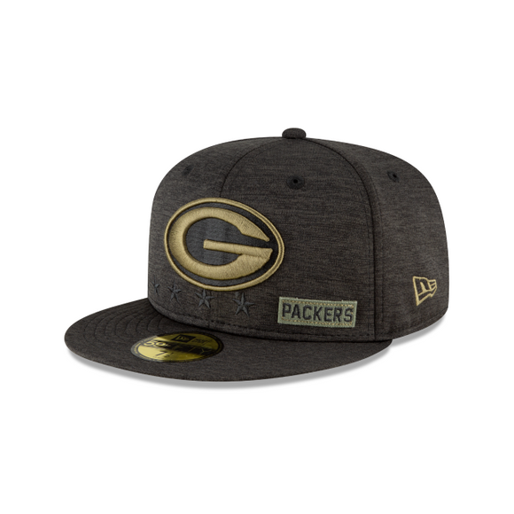 GREEN BAY PACKERS 2020 SALUTE TO SERVICE 59FIFTY FITTED