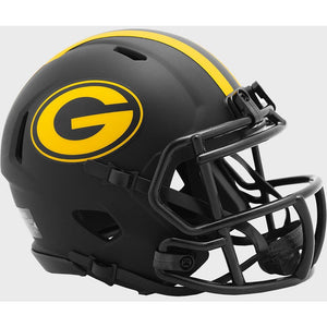 GREEN BAY PACKERS ECLIPSE MINI SPEED HELMET