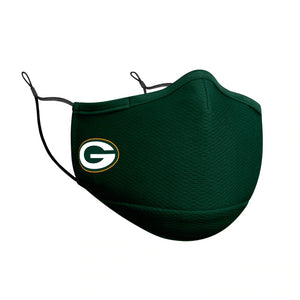 GREEN BAY PACKERS FACE MASK-GREEN