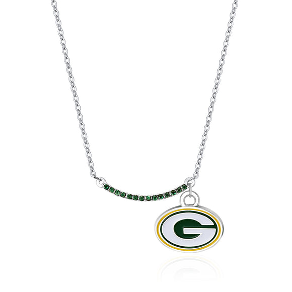 GREEN BAY PACKERS INFINITY NECKLACE