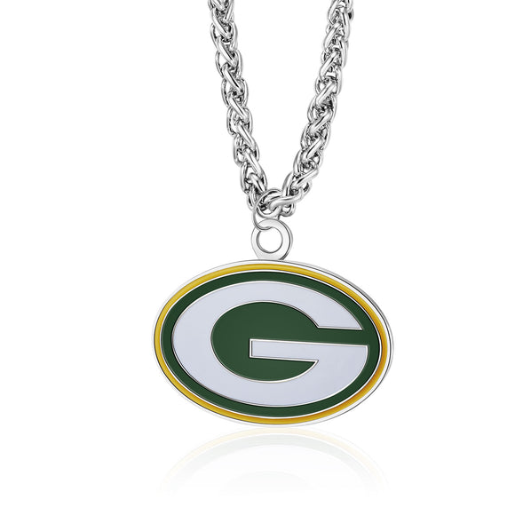 GREEN BAY PACKERS TEAM LOGO NECKLACE