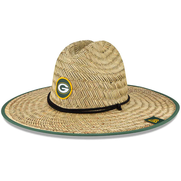 GREEN BAY PACKERS TRAINING STRAW HAT