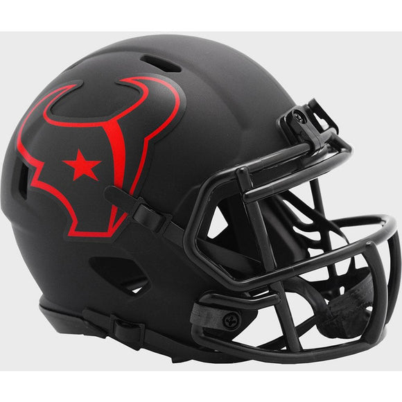 HOUSTON TEXANS ECLIPSE MINI SPEED HELMET