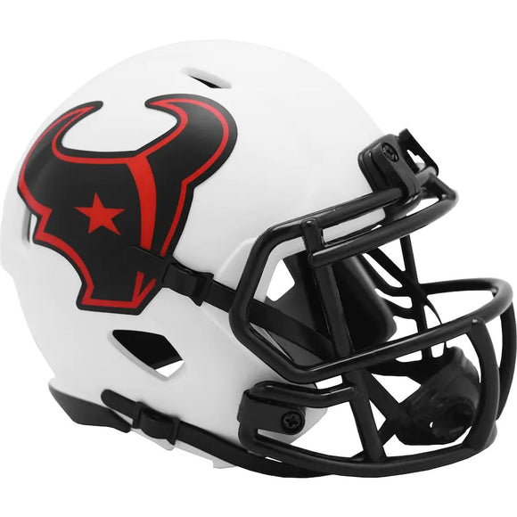 HOUSTON TEXANS LUNAR MINI SPEED HELMET