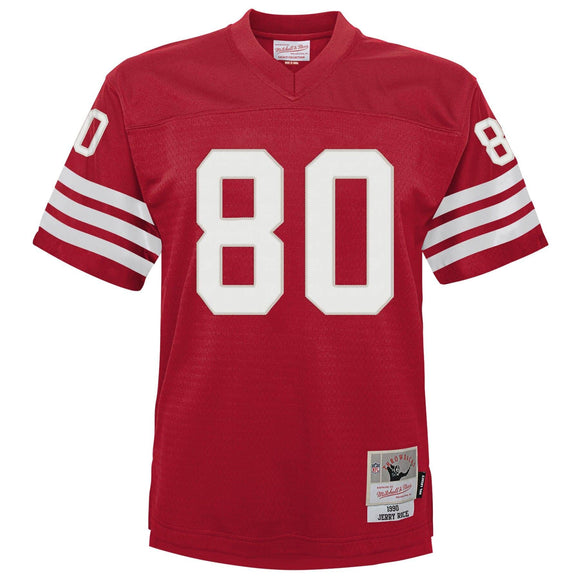 JERRY RICE YOUTH MITCHELL & NESS LEGACY JERSEY