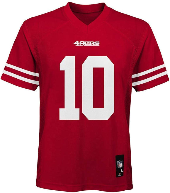 JIMMY GAROPPOLO YOUTH MID-TIER FOOTBALL JERSEY