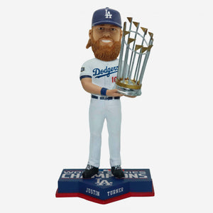 JUSTIN TURNER WORLD SERIES CHAMPS BOBBLE HEAD