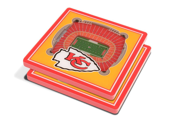 KANSAS CITY CHIEFS 3D COASTER