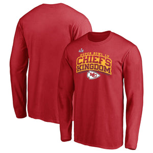 KANSAS CITY CHIEFS MEN'S LONG SLEEVE SBLV BREAK SPEED T-SHIRT