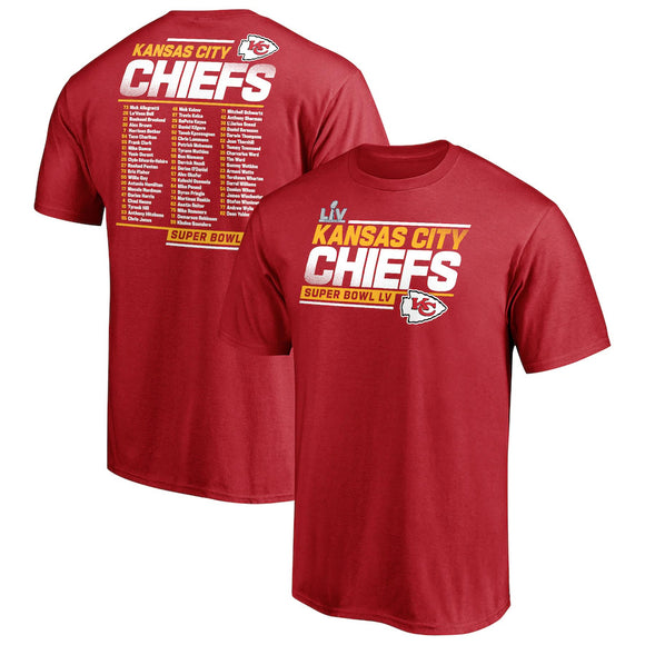 KANSAS CITY CHIEFS MEN'S SBLV PLAY ACTION T-SHIRT