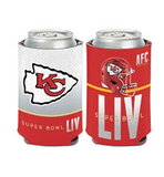 KANSAS CITY CHIEFS SBLIV CAN HOLDER