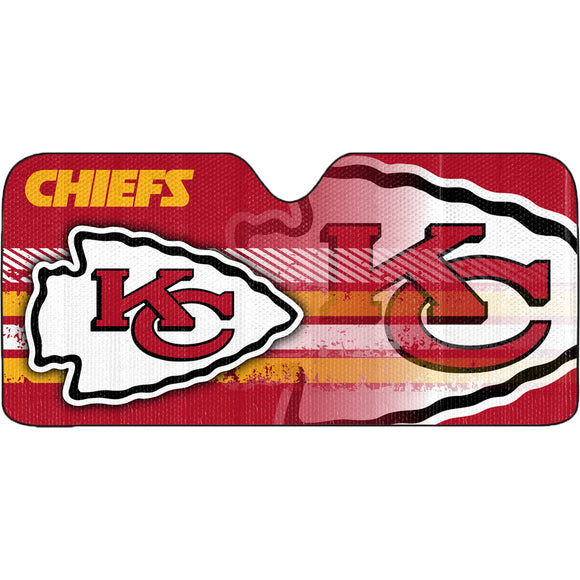 KANSAS CITY CHIEFS SUN SHADE VISOR