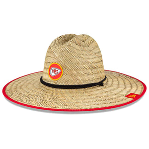 KANSAS CITY CHIEFS TRAINING STRAW HAT
