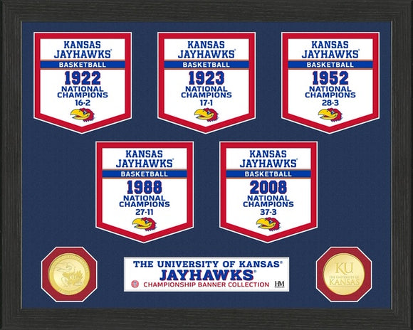 KANSAS JAYHAWKS BANNER COLLECTION PHOTO
