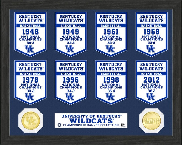 KENTUCKY WILDCATS BANNER COLLECTION PHOTO