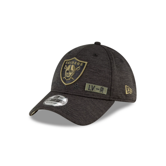 LAS VEGAS RAIDERS 2020 SALUTE TO SERVICE 39THIRTY FLEX FIT