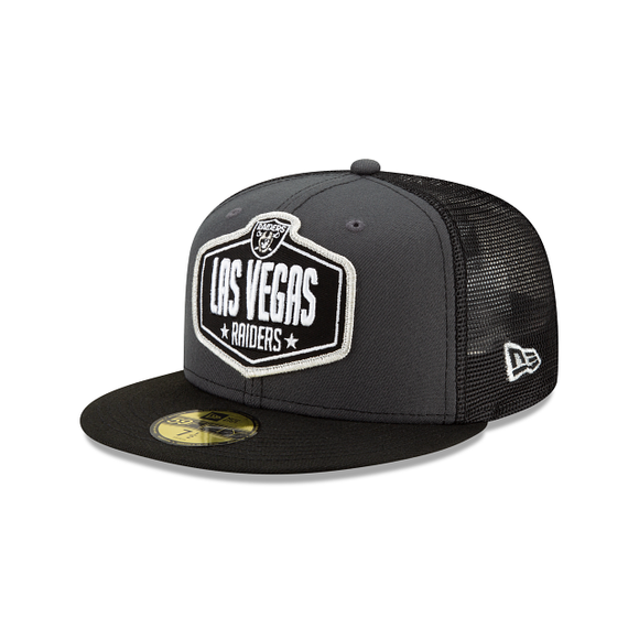 LAS VEGAS RAIDERS DRAFT 2021 DRAFT 59FIFTY FITTED