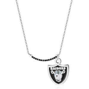 LAS VEGAS RAIDERS INFINITY NECKLACE