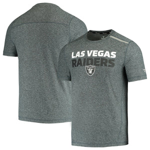 LAS VEGAS RAIDERS MEN'S DOUBLE STACKED T-SHIRT