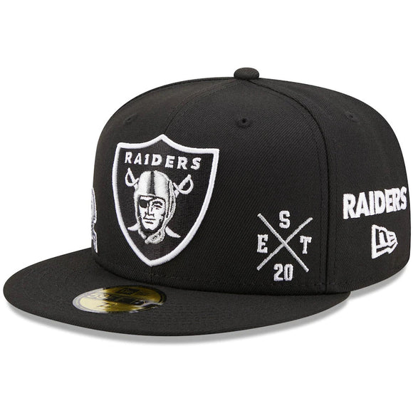 LAS VEGAS RAIDERS MULTI 59FIFTY FITTED