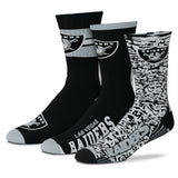 LAS VEGAS RAIDERS YOUTH STIMULUS SOCKS